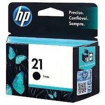 Cartucho De Impressora Hp 21 Preto 7ml (original) Vazio