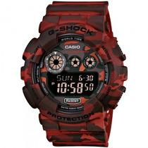 Relógio Casio Gd-120cm-4dr G-shock Camuflado - Refinado