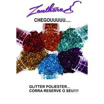 Glitter Poliester Para Peliculas De Unhas 10grs
