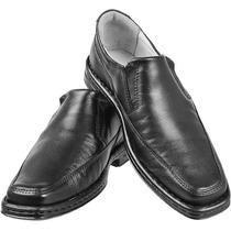 Sapato Social Para Diabeticos Com Bico Quadrado 1