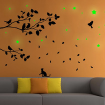 Vinilos Decorativos P/ Pared C/ Stickers Fosforescentes