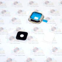 Marco + Lente Cristal De Camara Samsung Galaxy A700 A7 Dorad