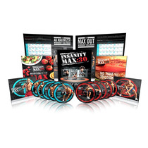 New Insanity Fitness Deluxe Cardio Dvd´s Tapout Xt Envio