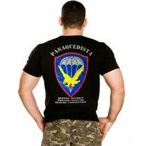 Camiseta Paraquedista , Estampada , Pqdt , Original