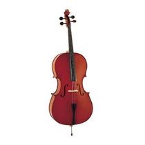 Violoncello Macizo Stradella Mc 601244 4/4 Tapa Pino Carved