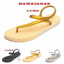 Ojotas Sandalias Pulsera Slim Lisas Hawaianas Originales