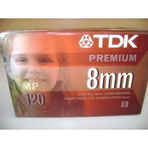 Cinta Tdk Mp120minutos Premium 8 Mm Filmadoras
