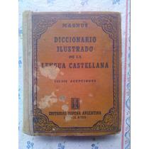 Diccionario Ilustrado De La Lengua Castellana 1944 Magnus