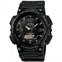 Relógio Casio Aq-s810w-1a2vdf Esportivo Solar - Refinado