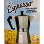 Cafetera Espresso Primula En Aluminio Pesado 3 Cups Ref 3203