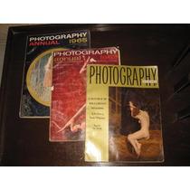 3 Revistas Antiguas De Fotografia Americanas De Los 50s Y 60