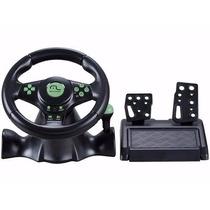 Multilaser Volante Racer Para Xbox 360, Ps2, Ps3 E Pc Js075
