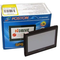 Gps Foston Fs-473 Tela 4,3 3d Tv Digital Camera De Marcha Re