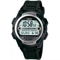 Relógio Casio W-756-1avdf Esportivo Cronógrafo - Refinado