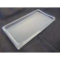 Protector (funda) Ipod 7g Silicon Blanco + Mica Cristal Temp