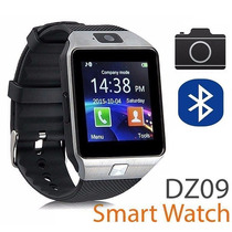 Smart Watch Dz09 Reloj Inteligente Cámara Chip Mic Sd Plata