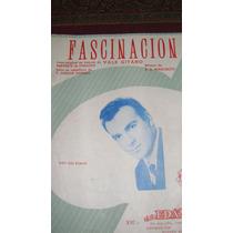 Partitura Piano Fascinacion Vals Gitano Feraudy Y Marchetti