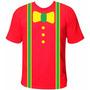 Camiseta Infantil Personalizada Patati Patatá