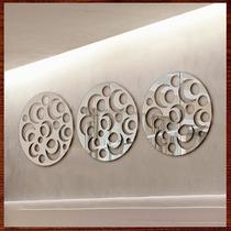 Espelhos Decorativos Sala Mandalas Grande Acrílico