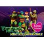 Las Tortugas Ninjas - Express Invitaciones Kit Imprimible