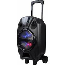 Bocina Bafle 1000w Pmp Portátil Recargable Bluetooth Usb Aux