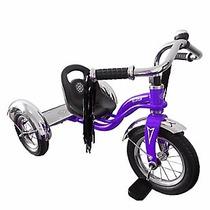 Triciclo Scoop Metal Modelo Retro Niños Importado Bocina