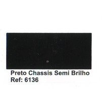 Tinta Esmalte Sintético Preto Chassis Semi-brilho 900ml
