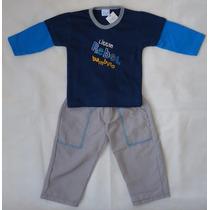 Terno Combo Camisa Y Pantalon Para Niños Talla 9-12