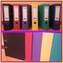 Bibliorato De Color Pvc - Avios -a4 / Legal- X 24u