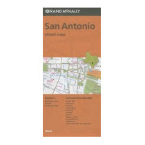 Rand Mcnally San Antonio, Texas Street Map, Rand Mcnally