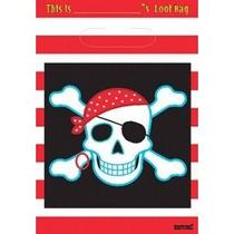 Piratas Bolsitas Fiesta Infantil Decoracion Recuerdos Bolsas