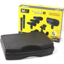 Kit De Microfones Skp P/ Bateria 7 Peças Dms-7