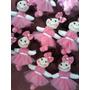 Mini Bonecas De Pano Bailarina P/ Lembrancinhas Ou Decoração