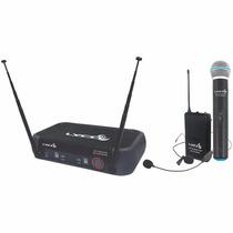 Microfone S/ Fio Mão, Headset E Lapela Vh 202 Pro Mhl - Lyco