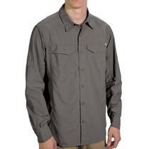 Camisa Columbia Hombre Manga Larga Protección Solar Upf 50