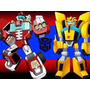 Kit Imprimible Candy Bar Transformers Rescue Bots Cumples
