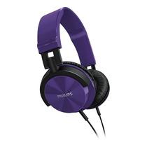 Auriculares Philips Shl3000pp Dj Potenciados Violetas Vincha