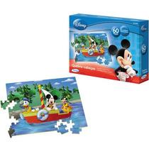 Jogo Quebra Cabeça Mickey Club House Disney Infantil Xalingo