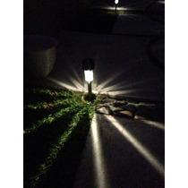 Lámpara Solar Luces Luz Jardín Exterior Led