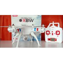 Quadricóptero Drone Syma X8w Pronta Entrega Câmera Wi-fii