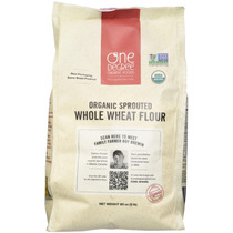 Harina De Trigo Brotado Germinado Sprouted Wheat Organico