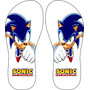 Chinelos Personalizados Sonic The Hedgehog Games Exlusivo!