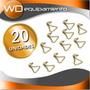 Ganchos Para Criquets - 20 Unidades - Kinedyne