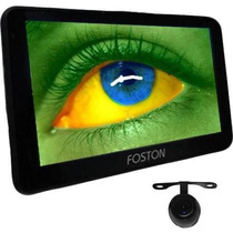 Gps Foston 3d717 Tv Digital Fs 717 3d Automotivo Camera Re