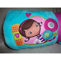 Cobertor Manta Bebe Doutora Brinquedos Disney 150 Cm
