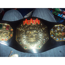 Cinturon De Lucha Libre Triple A P/niño Megacampeonato Aaa