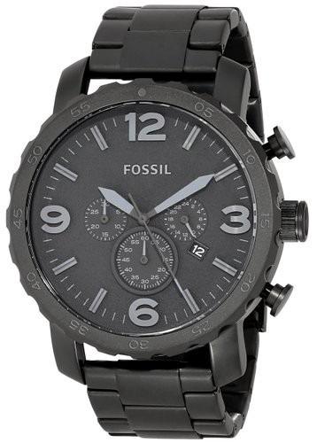 Relógio Fossil Masculino Jr1401 Metal Preto Caixa Grande - R  809,00 em  Mercado Livre 5f241b8163