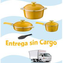 Set Soleil Essen + Epatula De Regalo Ahorre Gas, Cocine Sano