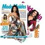 Kit 5 Revistas Moda Moldes Cia Costura Roupas + Moldes