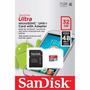 Memória Micro Sd-hc Ultra Sandisk 32gb 48mbs 2x1 Class10